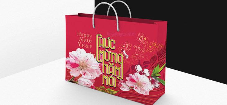 Những mẫu túi giấy đựng quà tết đẹp nhất cho năm mới